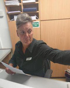 Susan Freear - Winner: Receptionist of the Year